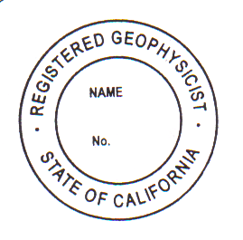 CA Geophysicist